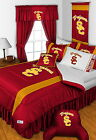 USC Trojans Bed in a Bag Curtains Valance Twin to King Size