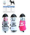 Внешний вид - Small Dog Pet Hoodie Puppy Cat Coat Winter Warm sweater clothes clothing M