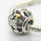 New 925 Sterling Silver 14kt Gold Family Forever Charm Bead For Mother's day Mam