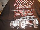 Solo Speed Shop Rat Rod Truck Streetrod Kustom Custom t shirt size XXX