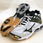 Mizuno Japan Men's WAVE LIGHTNING Z MID Volleyball Shoes V1GA1505 Black White
