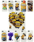 DESPICABLE ME 2 MINIONS TPU GEL CASE COVER FOR IPHONE 4S 4G 4
