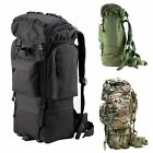 65L Outdoor Waterproof Camping Hiking Bag Shoulders Military Backpack Rucksacks
