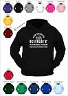 RUGBY WORLD CUP 2015 - God created rugby - custom printed hoodie - adult hoody