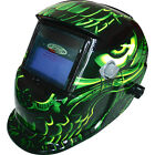 Leopard Auto Darkening Welding Helmet Mask Welders Grinding Function Solar Power