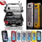 Wasserdichter Shockproof Metall-Hard-Case-Huelle fuer Iphone 4 4s 5 5s 6 6plus