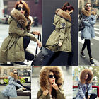 Luxurious Winter Warm Women Fashion Good Real Fur Hood Real Down Coat Parka Coat