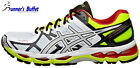 Asics Gel Kayano 21 Men's Running Shoes White/Flash Yellow