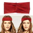 Chic Women Lady Stretch Turban Twist Knot Bow Headband Hair Band Bandana Wrap