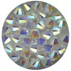 ***Genuine Swarovski Clear Crystal AB 2X Bicone Crystal Beads