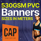 VINYL BANNERS PRINTED ON 530GSM PVC SUITABLE AS ADVERTISING OUTDOOR SIGNS