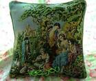 Vintage Style French Royal Tapestry Decorative Pillow Case Cushion Cover 18x18""