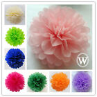 20pcs Tissue Paper Poms Wedding Party Home Outdoor Flower Balls Decoration