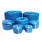 Blue Poly Rope Coils Polyrope Polypropylene Agriculture Camping Tarpaulins, 6mm