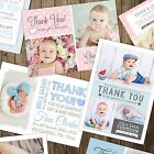 Personalised Baby Thank You / Announcement cards inc Envelopes + Photo