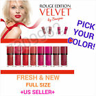 "bourjois "" ROUGE EDITION VELVET "" FULL COLORS AVAIL. TREND COLOR LIPSTICK NEW~"