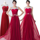 Queen Womens Sexy Long Evening Party Prom Bridesmaid Gown Wedding Dress UK 6-20