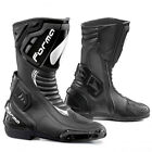 FORMA FRECCIA BLACK MOTORCYCLE MOTORBIKE SPORTS BIKE RACE RACING BOOTS