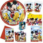 Disney Mickey Mouse Clubhouse Birthday Party Supplies Tableware Decorations