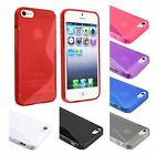 2 X NEW APPLE IPHONE 4/4S GEL CASE + FREE SCREEN PROTECTER - VARIOUS COLOURS