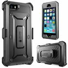 iPhone 5S 5 Case Cover Built-in Screen Protector Supcase Unic Belt Clip Holster