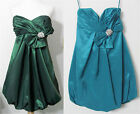 JOVANI EVENING DRESS Cocktail Bridesmaid Prom Green OR Teal NEW