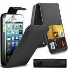 NEW PU Leather Flip Case Cove Pouch For Various iPhone Mobile Phones+FreePostage