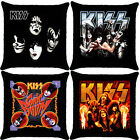 KISS Rock N Roll Band Throw Pillow Case Cover Bedding Two Sides [SQUARE] NEW
