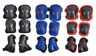 6X Adult Large Longboard Protector Skateboard Roller Skating Cycling Pads Knee