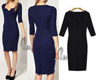 AU SELLER Sexy Womens Bodycon Cocktail Party Office Slim Pencil Dress dr015