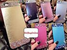 Brushed Aluminium / Bling Hard Back Case for Apple iPhone 5S / iPhone 6 / 6 Plus