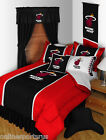 Miami Heat Comforter and Sham Twin Full Queen King Size