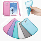 7Colors Rubber Soft Silicone Phone Case Cover Bumper For Samsung Galaxy S3 i9300