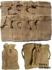"Burlap Bags 4"" X 6"" 5-12-25-50-100 Gift Bags Favor Bags Wedding Bridal Party"