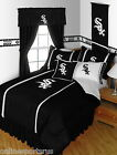 Chicago White Sox Comforter, Bedskirt and Sham Twin to King Size