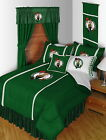 Boston Celtics Comforter Bedskirt Sham Pillowcase Twin Full Queen King Size