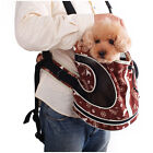 Brand New Lovabledog Soft Canvas Cozy Backpack Carrier Mesh Bag for Dog Cat Pet