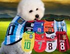 New Spring Autumn Dog Pet Clothes Pet Football World Cup Various National Style