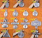Charm Silver Pendant Sport 14s Style DIY Jewelry making For Bracelet Necklace $2.67 CAD on eBay