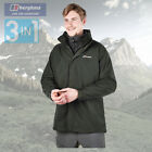 Berghaus Men's RG1 Long 3 in 1 TriClimate Jacket - Green - Authorised Dealer