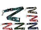 NHL Officially Licensed Team Logo Lanyard Breakaway Keychain- Pick Team