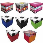 Jolly Foldable Storage Large Medium Box Chest Room Toy Tidy With Lid