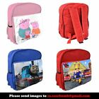 Personalised Gift Childrens Kids Rucksack Backpack School Bag YOUR IMAGE & TEXT