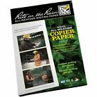 5 x Sheets *NEW* Rite in the Rain (RITR) All-Weather Laser / Copier A4 Sheets!