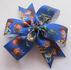 Toy Story, Woody, Buzz Lightyear - Disney Pinwheel Bow, Clips Or Bobbles Blue