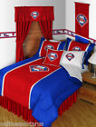 Philadelphia Phillies Comforter Sham Bedskirt Pillowcase Twin to King Size