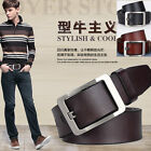 P-841 New Men's 2015 Genuine Leather Waist Stylish Fashion Belt Free Shipping