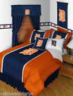Detroit Tigers Comforter Bedskirt Sham Valance Twin Full Queen King Size
