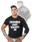 """Official TNA Impact Wrestling EC3 """"Trouble Just Walked In"""" T-Shirt"""