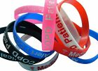 COPD Patient  Silicone Medical Help Wrist Bands 2 bands pack